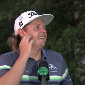 Cameron Smith Thursday Flash Interview 2021 The Masters Tournament
