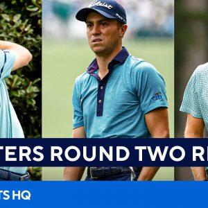 2021 Masters: Full Second Round Recap [Justin Rose, Jordan Spieth, Justin Thomas] | CBS Sports HQ