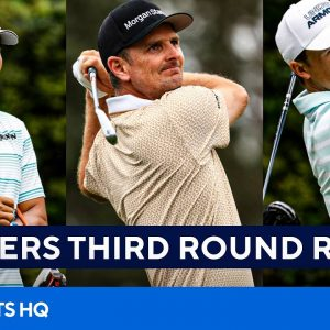 2021 Masters: Full Third Round Recap [Hideki Matsuyama, Justin Rose, Jordan Spieth] | CBS Sports HQ