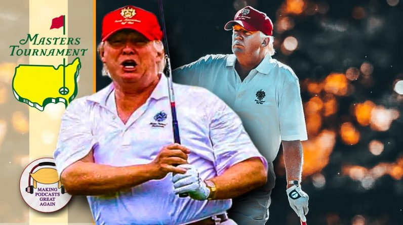 Donald Trump Reacts to the Masters Tournament from Mar a Lago