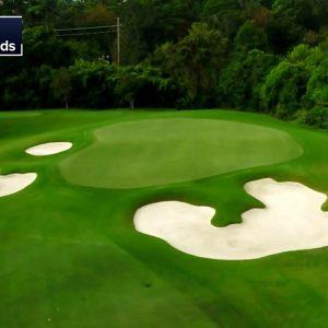 Drone Flyovers of Champions Golf Club: 2020 U.S. Women's Open
