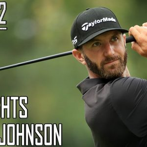 Dustin Johnson Highlights Round 2 | The Masters Tournament 2021