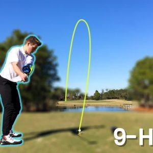 FIRST FLORIDA GOLF (Back-Nine) // Golf Course Vlog (Solo)