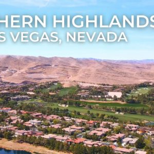 SOUTHERN HIGHLANDS | Exclusive Golf Course Views | Las Vegas, Nevada | 4k HD Drone Video