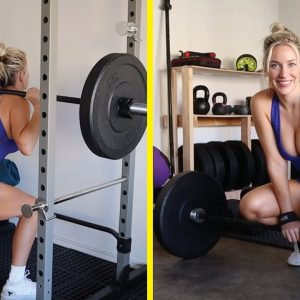 Growing My Glutes! 🍑 Leg Day Workout Routine