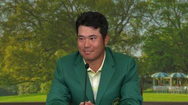 Hideki Matsuyama: Sunday interview Winner 2021 The Masters Tournament