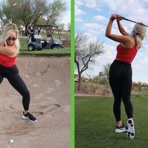 Hitting the Toughest Shots in Golf