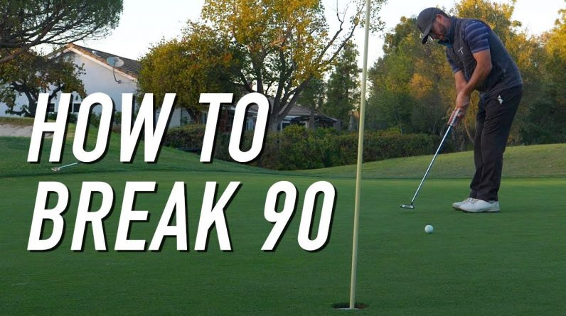 How To BREAK 90 With Coach!