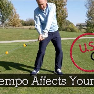 How to Improve Your Golf Swing Tempo - Continuous Motion Drill