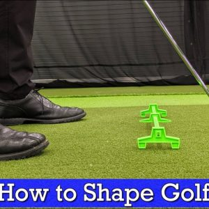 How to Shape Golf Shots (Draw vs Fade - Golf Swing Basics)
