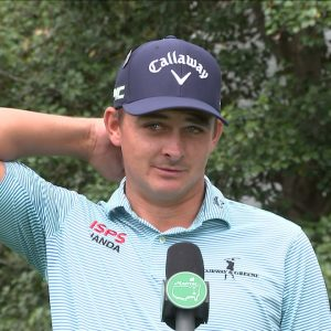 Christiaan Bezuidenhout Thursday Flash Interview 2021 The Masters Tournament