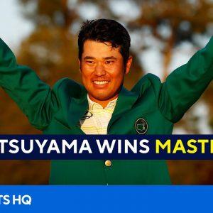 2021 Masters: Hideki Matsuyama makes history with win [Final Round Recap] | CBS Sports HQ