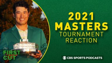 Hideki Matsuyama Wins The Masters! Tournament Reaction Podcast | The First Cut Golf Podcast