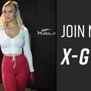 Join Me at X-Golf // High-End Golf Simulator Bar + Restaurant