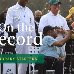 Lee Elder joins Jack Nicklaus and Gary Player as an Honorary Starter | The Masters