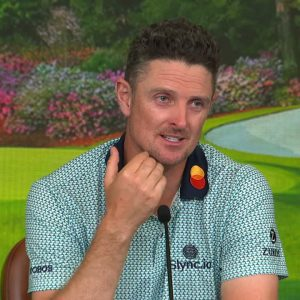 Justin Rose: Friday interview 2021 The Masters Tournament