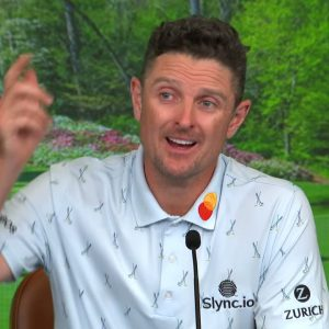Justin Rose Thursday Press Conference 2021 The Masters Tournament