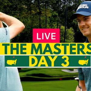 LIVE: The Masters 2021 (Day 3) - Golf - Live Stream Watch Along