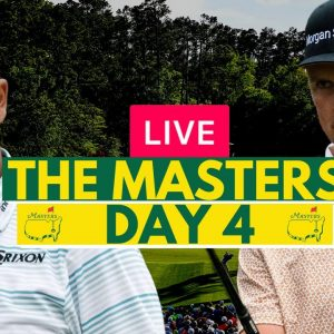 LIVE: The Masters 2021 (Day 4) - Final Round - Golf - Live Stream Watch Along