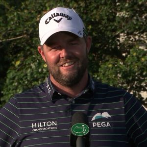 Marc Leishman Sunday Flash Interview 2021 The Masters Tournament
