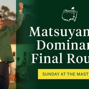 Matsuyama A Masters Champion | The Masters