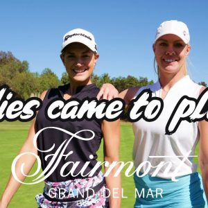 New Lady Golfers take on Golfholics at Grand Del Mar!