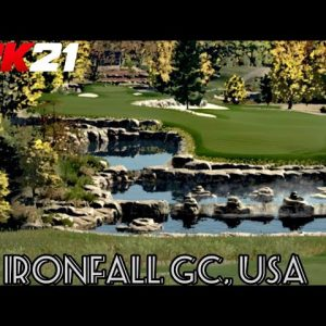 PGA TOUR 2K21 - Ironfall Golf Club, USA (PlayStation 5 Gameplay)