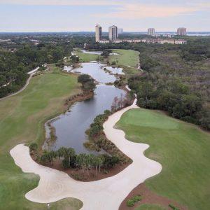 Raptor Bay golf course flyover, Estero, Florida. 🏌️