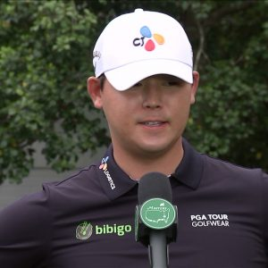 Si Woo Kim: Friday quotes 2021 The Masters Tournament Part 1