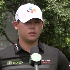 Si Woo Kim Thursday Flash Interview 2021 The Masters Tournament Part 2