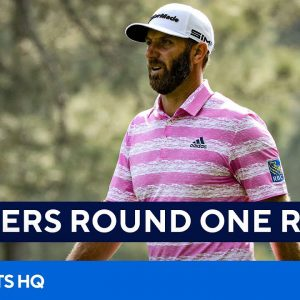 Masters: Full First Round Recap [Dustin Johnson, Justin Thomas, Rory McIlroy] | CBS Sports HQ