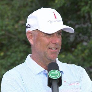 Stewart Cink Saturday Flash Interview 2021 The Masters Tournament