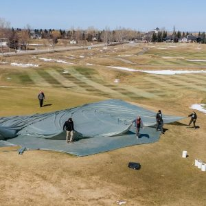 Preparing HERITAGE POINTE Golf Club for OPENING - What Goes into Opening a Golf Course