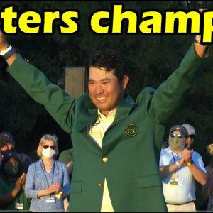 The Masters Tournament 2021 live score (Hideki Matsuyama - 2021 Masters champion)