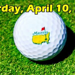 The Masters Tournament 2021 live score (Saturday, April 10, 2021)