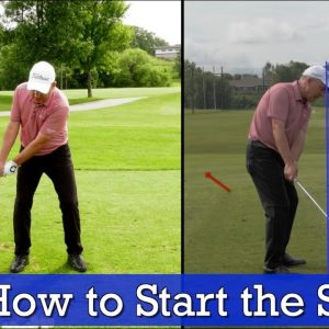 The Perfect Takeaway for Any Golf Club - How to Start the Golf Swing
