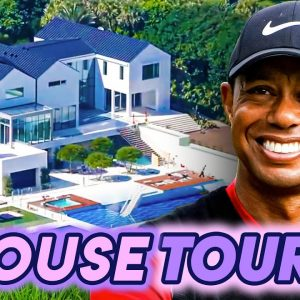 Tiger Woods | House Tour | His $54 Million Florida Mansion and More