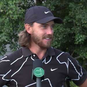 Tommy Fleetwood Thursday Flash Interview 2021 The Masters Tournament