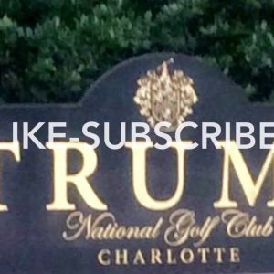 TRUMPS golf course in North Carolina !