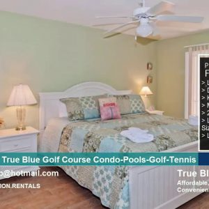 True Blue Golf Course Condo-Pools-Golf-Tennis | South Carolina | Vacation Rentals