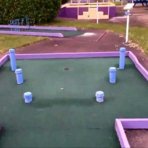 Martinsville, Virginia's Laurel Park Mini Golf Course Walk-thru - Exposed Series vol. 10