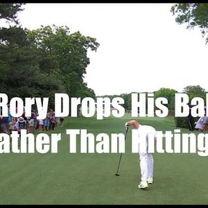 Rory McIlroy Takes a Smart Penalty Drop- Golf Rules Explained