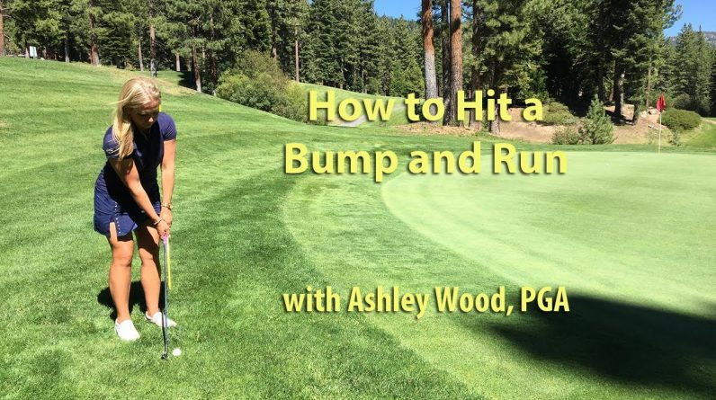 Golf Tip: How to Hit a Bump and Run with Ashley Wood