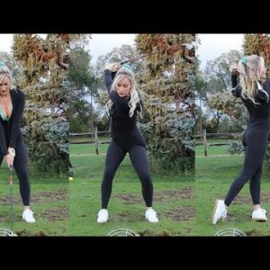 How to Hit Fades, Draws, and Straight // Golf Tutorial