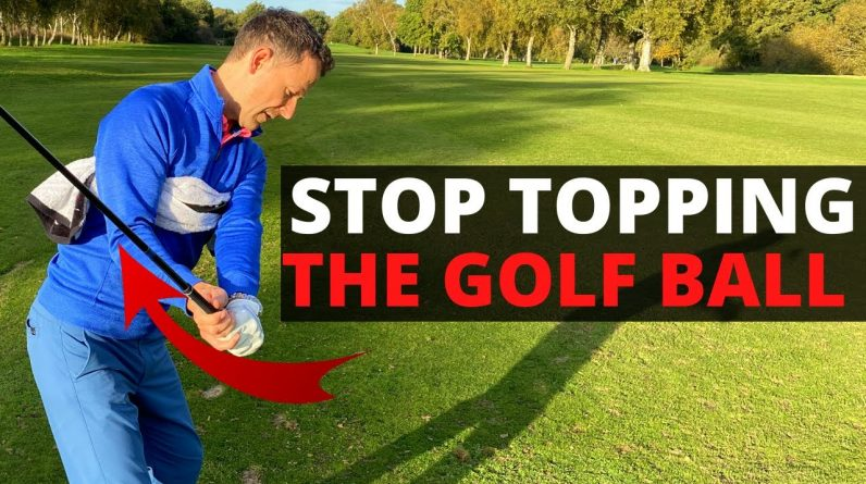 Stop TOPPING the Golf Ball | Hit Your woods & irons off the ground EVERY TIME!