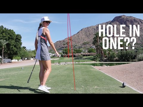 Par 3 Hole in One Challenge! // At Mountain Shadows in Arizona