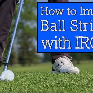 Better Golf Ball Striking Starts with This Golden Visual (Vertical Line Swing)