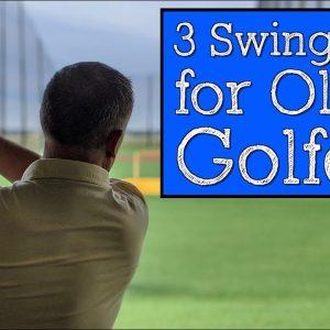 3 Todd Kolb Golf Swing Tips for Older Golfers (Vertical Line Swing)