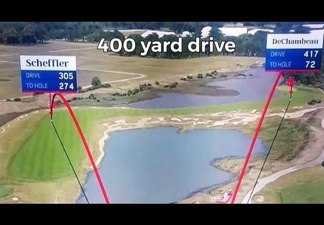 Bryson DeChambeau 400 yard drive Ryder Cup 2021