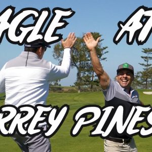 MATT JUST HIT ONE OF THE SHOTS WE ALL DREAM ABOUT!/COACH VS MR.SHORTGAME FROM TORREY PINES